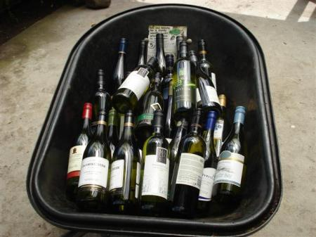 A barrow load of wine
