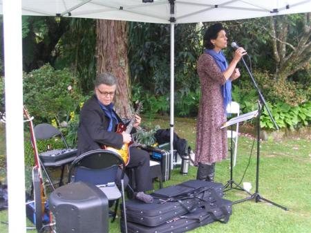 Jazz in our garden last Friday