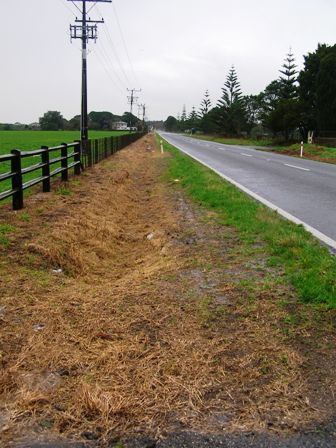 The ugly sight of roadside spraying