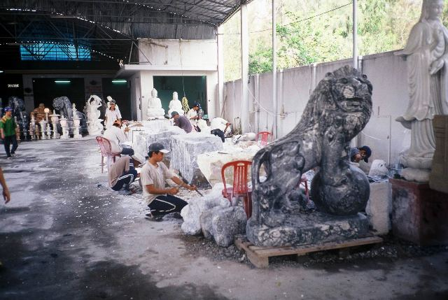 Repro classical statuary to your heart's desire from the Marble Mountains near Hoi An in Vietnam