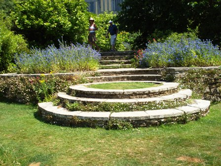 Lutyens steps at Great Dixter