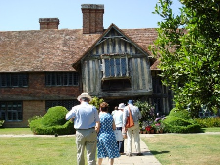 Don't expect the sort of visitor numbers Great Dixter gets