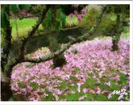 The DIY Monet image, courtesy of the Te Papa website