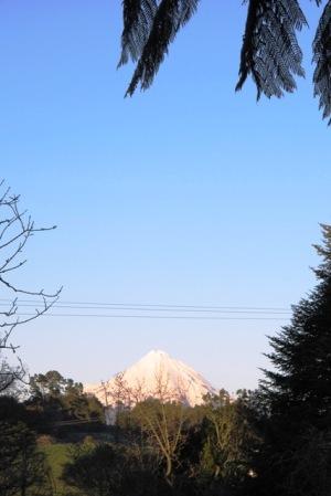 Our maunga, Mount Taranaki