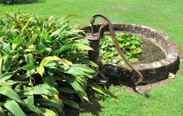 Do away with island beds in the midst of the lawn if you want to reduce maintenance