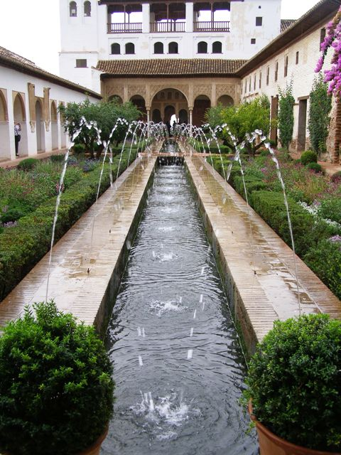More about wealth, power and lifestyle than plants - the Alhambra in Spain