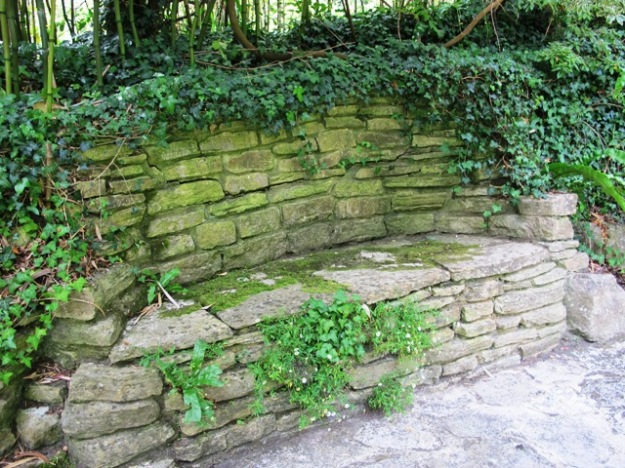 Stone, concrete or brick seating can be a problem