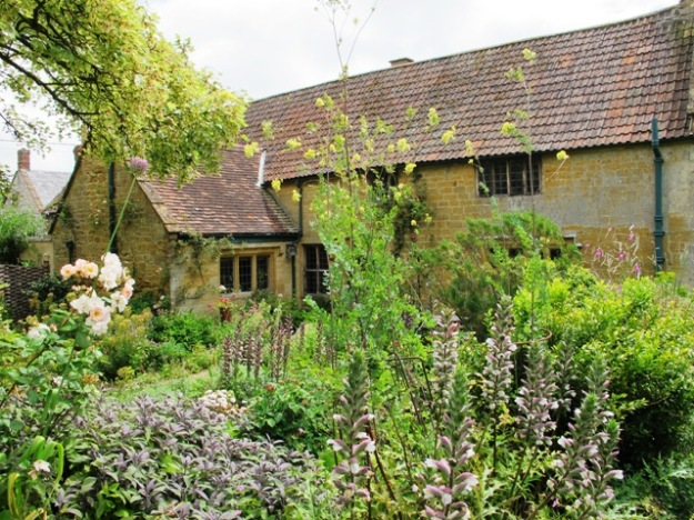 East Lambrook Manor House has sections dating back 600 years and a garden dating back to the late 1930s