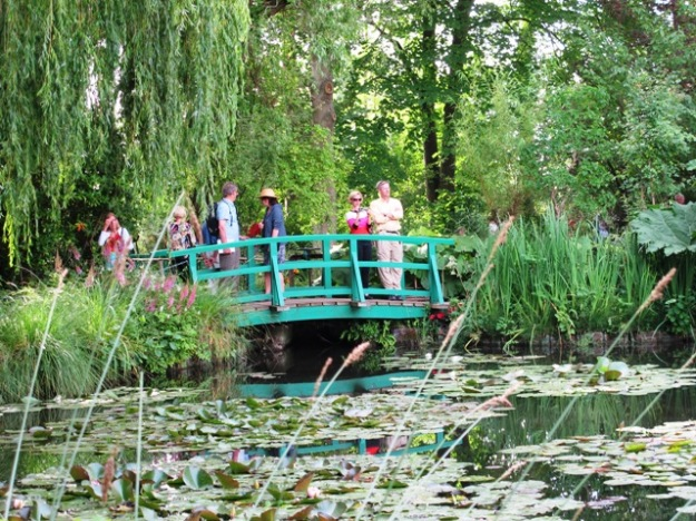 Monet's waterlily garden is charming enough, as long as you don't mind sharing it with many strangers.