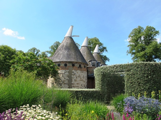 Who wouldn't covet the oast houses at Bury Court?