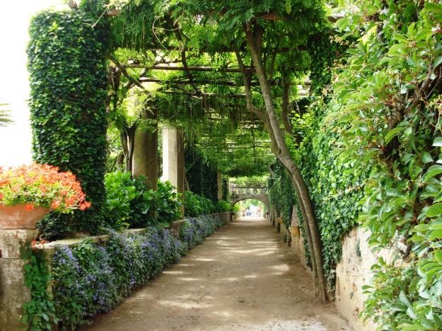 Villa Cimbrone  in Ravello on the Amalfi Coast