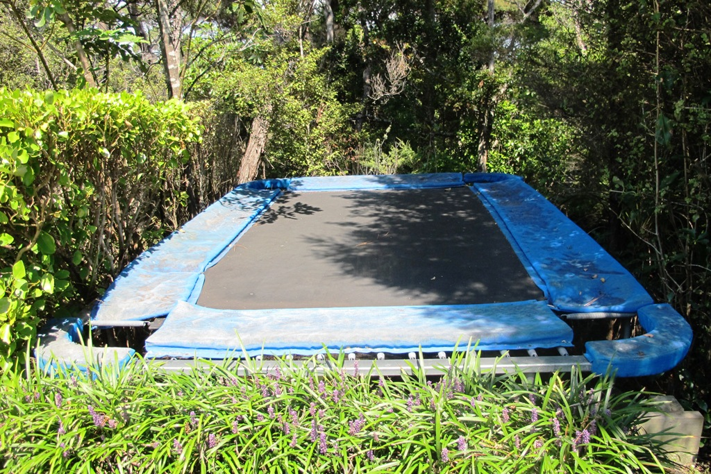 Attempting To Hide The Trampoline In A More Aesthetically Pleasing Manner  Is More Likely To Ensure