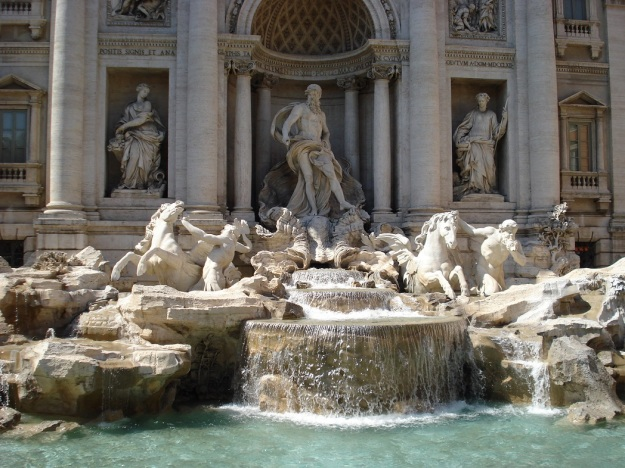 The real thing, the Trevi Fountain