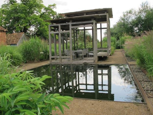 The grass garden at Bury Court