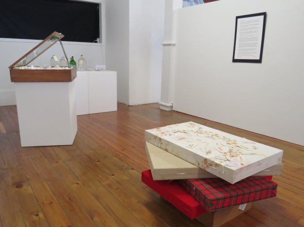 Our Tikorangi corner of the exhibition
